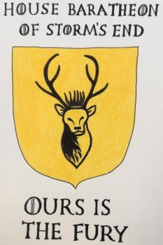 House Baratheon of Storm's End - Ours Is The Fury by Ladyblanche85