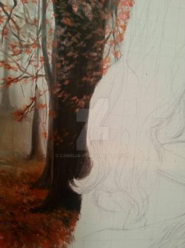 Close up - dream forest by Camelia-07