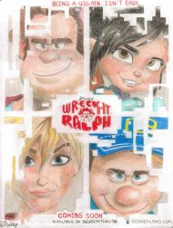 Wreck-it-ralph poster 2012 by Mia-Oneill