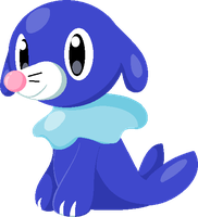 Popplio Mop The Floorio by SneakySneasel