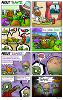 Something about plants and zombies... by BoxBird