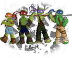 Heroes in a... no shell? by Bricus27