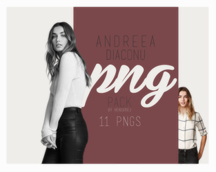PNG Pack 08 - Andreea Diaconu by ohnoesflorence