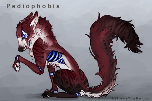 Commission : Phobia Adopt - Pediophobia by BelieveTheHorror