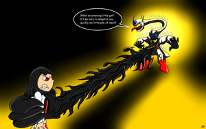 Chaos Stryker vs Darken Candy by Thesimpleartist4