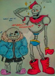 Sketch.Book.Entry#8: Skelebros by Sedated-Smiles