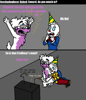 Ask FNAF Comic Pt.156 by Blustreakgirl