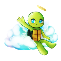Angel Mikey by SpringSunshower