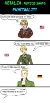 Hetalia punctuality by chaos-dark-lord