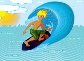 Surfer - color by lille-cp