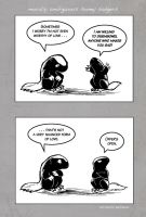 Honey Badger Love by ursulav