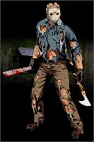 Jason Vorhees by -hayze-
