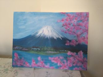 Mt Fuji by Slow-Chemical-Design