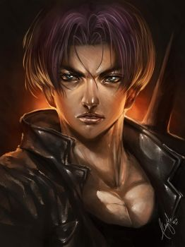 Trunks (speed paint) by wizyakuza