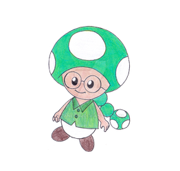 Me as a Toad by ZaneNya