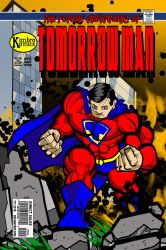 The Future Adventures of Tomorrowman 75 by bogmonster