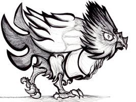 #21: Spearow by Hisscale
