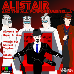 Alistair Season 1 Volume 1 audio book cover by RGPublications