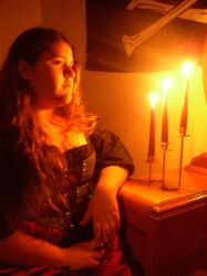 ...By candle light by CherrysnRoses