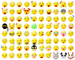 Anime Emoticons ( NEW EMOTICONS!!! ) by AngelNeko