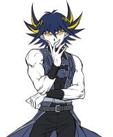 Yusei Dressing Differently by Ycajal