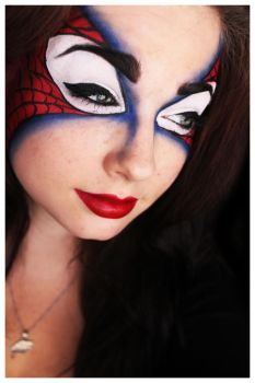 The Amazing Spidey Mask by Unique-Desire