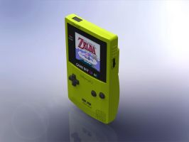 1:5 Scale Nintendo Gameboy Color by DrOctoroc