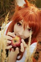 Horo with apple by Firss