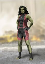 Mcu Jen Walters Concept updated Wip by Needham-Comics