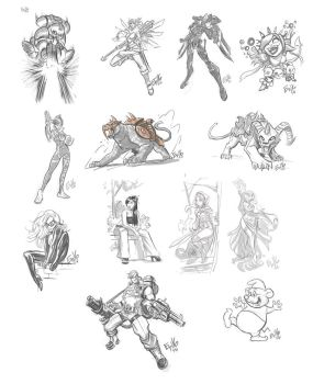 DRS Drawing Dump -7616 by EryckWebbGraphics