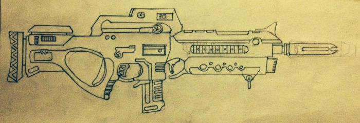 M3 A1 special purpose rifle by prodoomer1