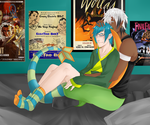 LT:: Activity check featuring Neons hideous socks by SirRaptor