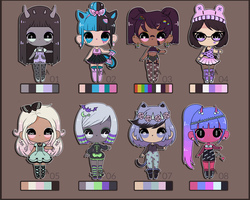 [auction/closed] mixed batch 02 by ribbon-adopts