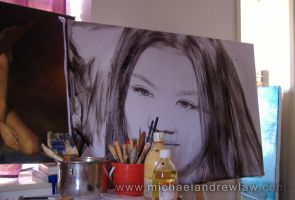 Chrissie Chau WIP by michaelandrewlaw