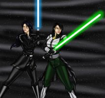 Revan and The Exile by JosephB222
