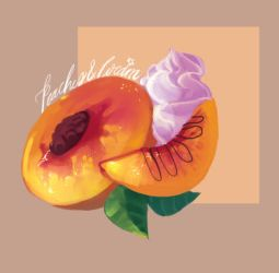 Peaches and cream by mairle