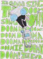 Gir: the DOOM SONG by WhyPiggieWhy