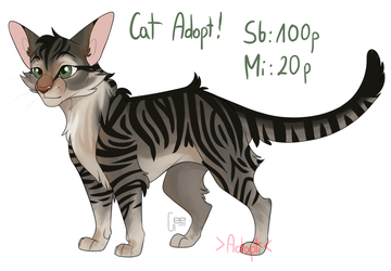Warrior Cat adopt! by Mika352