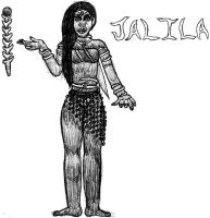 Jalila- Break Time Sketches by jamesgannon