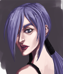 Vel Portrait by madcarrot
