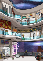 Space Mall by ZannyHyper