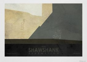 Shawshank Redemption - Vintage Poster 3 by 3ftDeep by 3ftDeep