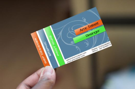new card design by amrtalaat