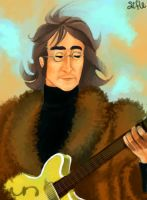 John Lennon - rooftop by Sifle