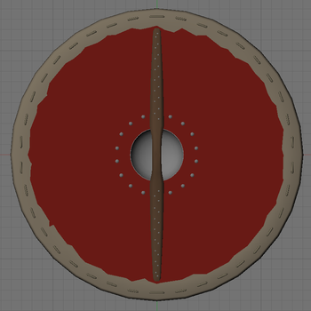 Viking Shield Back WIP by Beowulf71
