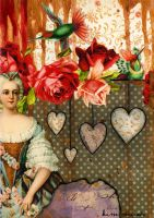 Rococo Collage 3 by CountryBird