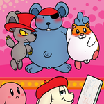 Kirby Star Allies Rodents by nishi