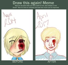 Draw This Again: Gore Finland(?) by NoHomojaku