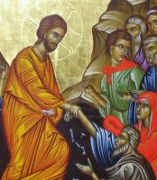 Christ Resurection detail. by teopa