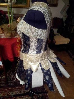 Project Sewing Mannequin gift-wrapping part 4 by Psycho-Panda